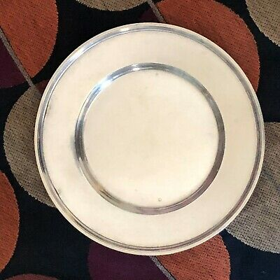 Lovely Set of 6 Wallace Sterling Silver Plates