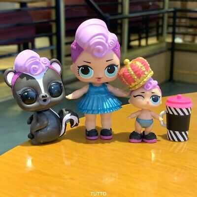 PET & BIG SISTER & LIL LOL Surprise LiL Sisters MISS PUNK GLAM doll GIRL GIFT