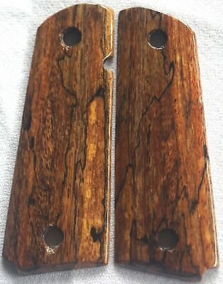 1911 GRIPS 4 FULL SIZE COLT, Springfield,Charles Daly SPALTED MANGO S-1 NICE!!