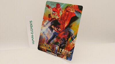 JUSTICE LEAGUE - Lenticular 3D Flip Magnet Cover FOR bluray steelbook
