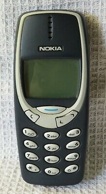 Nokia 3310 - Blue (Any Network) Mobile Phone Excellent Condition