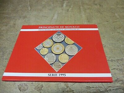 Monaco , KMS / Coin Set , 1995 im Original Folder