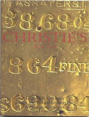 Gold Rush Treasures from the SS Central America - Ingots, Bullion FREE SHIPPING!