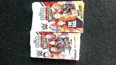 Topps WWE Slam Attax Universe Trading Cards 2019 -34 Packs