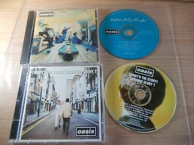Oasis - What's The Story Morning glory + Definitely Maybe (Creation) 2 x CD