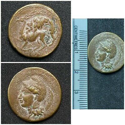 Absgr.fantastic old antique bronze coin