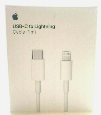 Authentic Apple USB-C to Lightning Cable 3.3' 1m Genuine MQGJ2AM/A OEM Ship Free