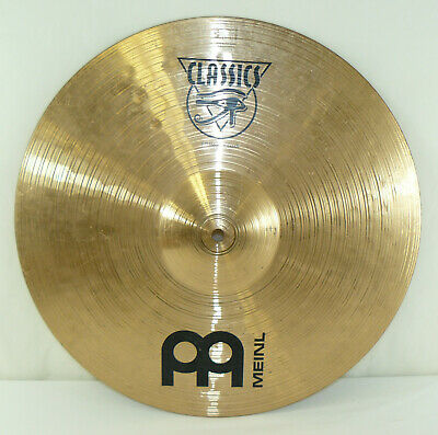"AA Meinl Classics 17"" Medium Crash Cymbal 1630g For Drum Set Kit Stand"