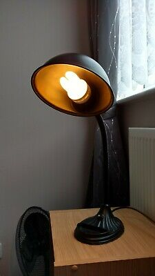 Early 20th Century industrial machinist bench lamp