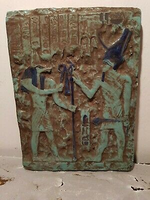 Rare Antique Ancient Egyptian Stela King Menes God Anubis 1st Dystany3200–3000BC