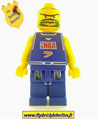 NBA player Number 2 nba028 Sports // Basketball Minifig 2003 Lego Minifigure G