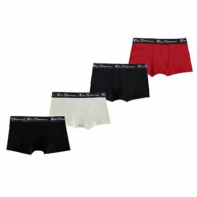 Ben Sherman 4 Pack Trunks Boys Underclothes -