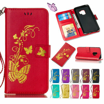 PU Leather Wallet Phone Cases with Card Stand for Samsung Galaxy NOTE 8 5 4 S8