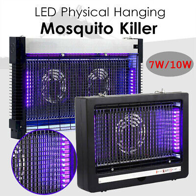 7/10W Electric UV Insect Killer Mosquito Fly Pest Zapper Catcher Trap LED