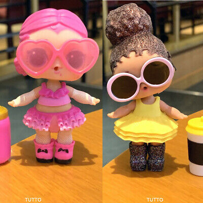2x LOL Surprise Dolls COUNTESS & Glitter BOSS QUEEN with outift toy Real L.O.L.