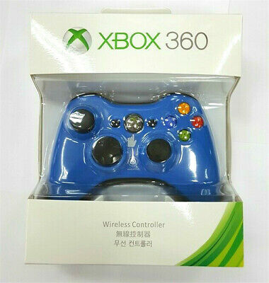 Xbox360 Microsoft Wireless Joystick Controller Bluetooth Vibrate Colored Gamepad