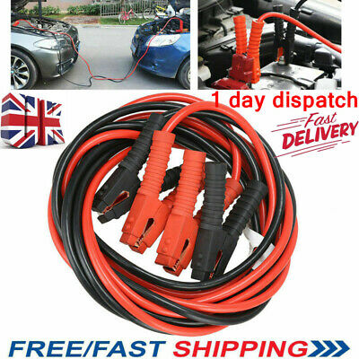 20Ft 3000Amp Heavy Duty Car Battery Jump Leads Cord Booster Starter Jumper Cable