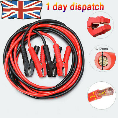 Heavy Duty 6m 3000AMP Professional Jump Leads LONG HGV Farm Jump Booster Cables