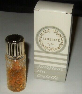 Zibeline Perfume Weil Paris Miniature Zibeline Sample in Box Vintage Scent