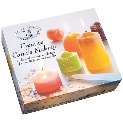 Gigante Creativo Cerería Craft Kit house of crafts Cera Perfumado Deluxe Set