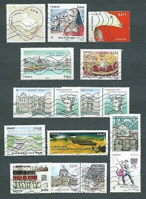 France - 2014 - Timbres Obl. / Used