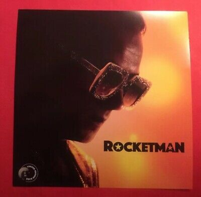 ELTON JOHN ROCKETMAN 2019 Limited Edition Album Sized Movie Poster Promotion NEW