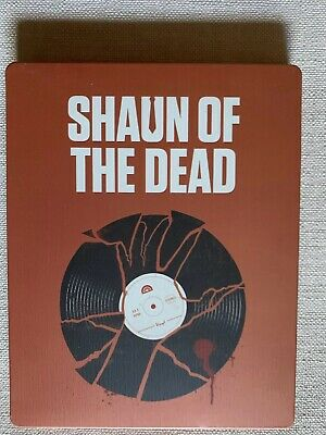 Shaun of the Dead Steelbook (Blu-ray Disc, 2014, Limited Edition)