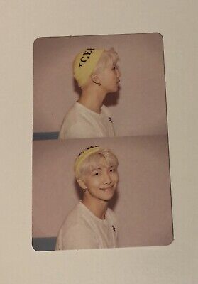 BTS Map of the Soul: Persona - Version 1 RM/Namjoon Photocard