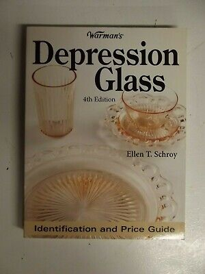 Warmans Depression Glass Identification and Price Guide by Ellen Schroy 4th Ed