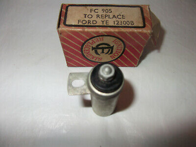 NOS Ford 8 10 Eight Ten Anglia Prefect Popular 10cwt Condensor FC905 YE 12300B