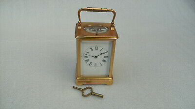 Antique Henri Jacot 8 Day Repeater Carriage Clock