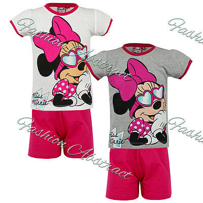 Girls Disney Minnie Mouse PJ 's