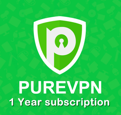 PURE VPN SERVICE 1 YEAR SUBSCRIPTION PUREVPN LIFETIME WARANTY ANDROID ROUTER lot