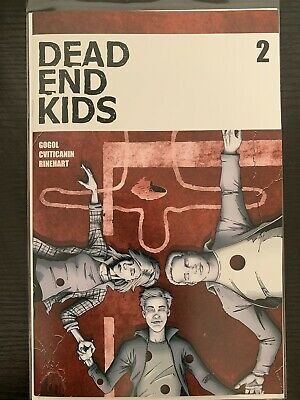 Dead End Kids #2 Nm Frank Gogol Source Point Press Htf Hot Book