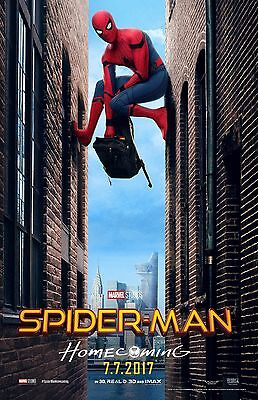 Spiderman Homecoming movie poster (d) - Spiderman poster - 11 x 17 inches