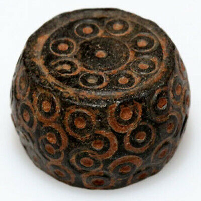 MUSEUM QUALITY BYZANTINE ROUND DECORATED WEIGHT 8.33 grams