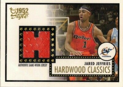 Jared Jeffries Hardwood Classics Jersey Style 52 Topps 2006