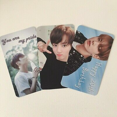 BTS Jin RM V Taehyung Speak Yourself Japan Edition Official Photocard Unit 6/9
