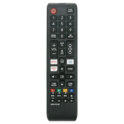 Replace Remote BN59-01315B for Samsung UHD 4K TV UE43RU7100K with Netflix Rakute