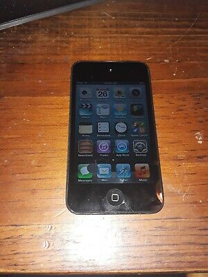 Apple iPod Touch 4th Gen. (A1367) Black 8GB - Fully Functional & Charged