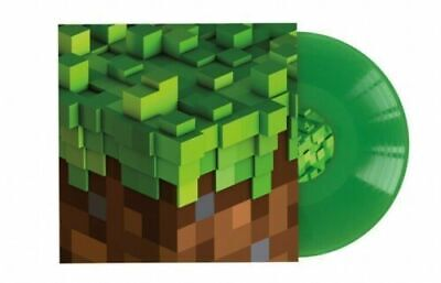 C418 Minecraft Volume Alpha GREEN VINYL LP Record &MP3 video game soundtrack NEW