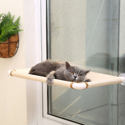 1*Window Mounted Cat Bed Suction Cup Hanging Pet Sunshine Hammock Perch Cushion