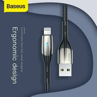 Baseus USB Lightning Charger Data&Sync Cable Lead For Apple iPhone 5 6 7 8 Plus
