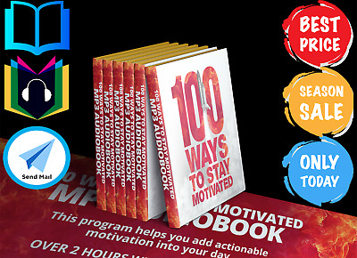 100 Wayst to Stay Motivated MP3 Grant Cardone-Bestseller [Audiobook] E-Delivery