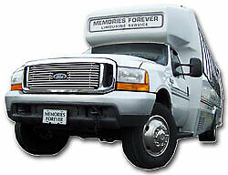 2000 Ford F550 20 PAX Limo Bus