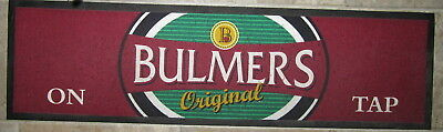 Bar Spill Mat for Bulmers Cloth with Rubber Backing