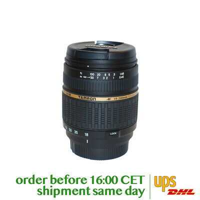 Tamron AF 18-200mm f/3.5-6.3 XR Di-II LD Aspherical (IF) MACRO for Nikon (A14N)