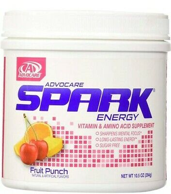 ADVOCARE SPARK Canister Energy 42 Servings Choose Flavor FREE SHIPPING