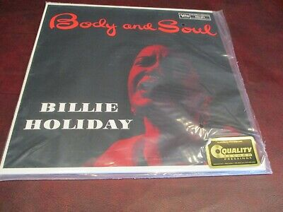 Billie Holiday Audiophile 45 Rpm Verve Series Body & Soul Limited Numbered 109