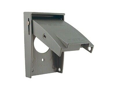 (Lot of 5) Bell Outdoor (5031-0) Single Gang Device Cover - Grey
